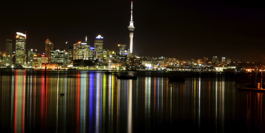 Auckland from Bayswater